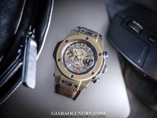 Đồng hồ Hublot Big Bang Unico Magic Gold được mạ vàng ma thuật đặc biệt sang