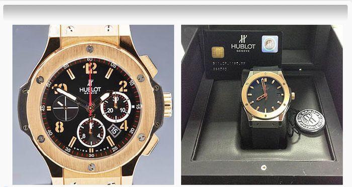 Những cách phân biệt mẫu đồng hồ hublot tiện lợi, mức giá của đồng hồ